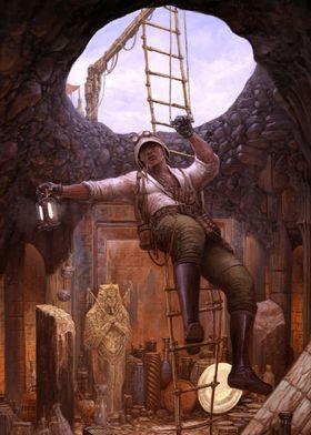 Steampunk Archeologist