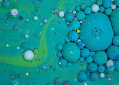 Bubbles Art Pistachio