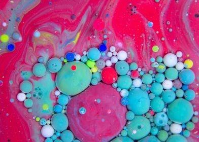 Bubbles Art Watermelon