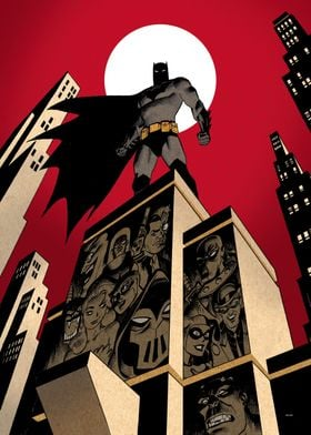 BATMAN by Dave Johnson