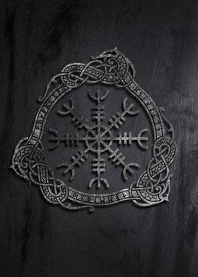 Helm of Awe Viking symbol