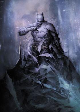 BATMAN by Dan Quintana