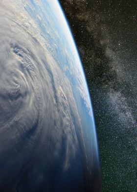 Typhoon Halong from space