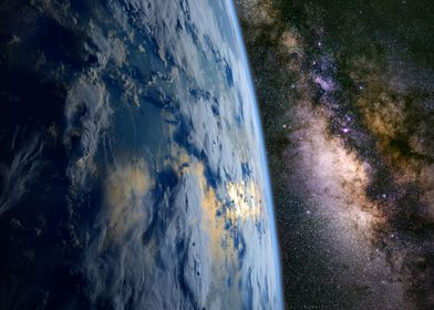 The Milky Way and Earth