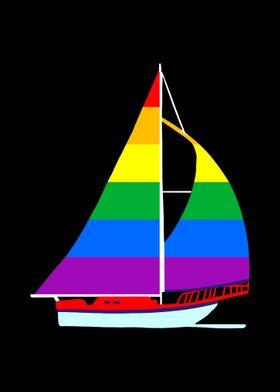 Sailboat Gay Pride