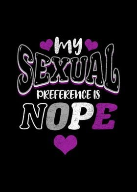 My Sexual Preference Nope
