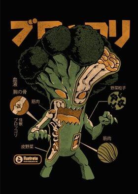 Broccozilla X ray