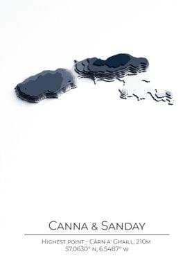 Isle of Canna and Sanday