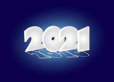 New Year shining