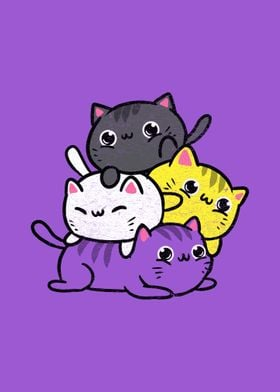 Cat Stack Nonbinary