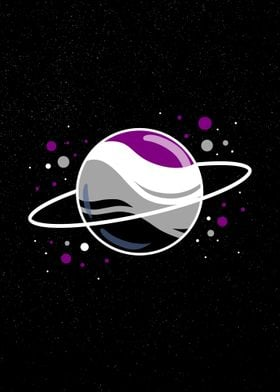 Space Planet Ace Pride