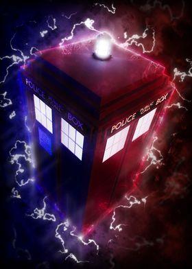 TARDIS Rides The Lightning