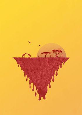 Giraffes homeland