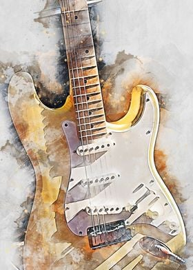 Guitar electric 6