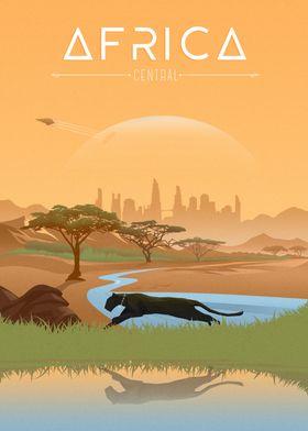 Africa Monochrome