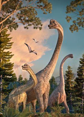 Brachiosaurus Walk