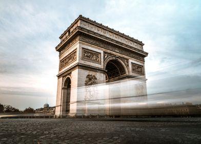 Triumphal arch of paris