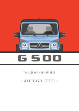 G500 Blue and red