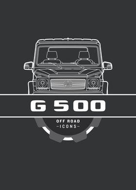 G500 black badge