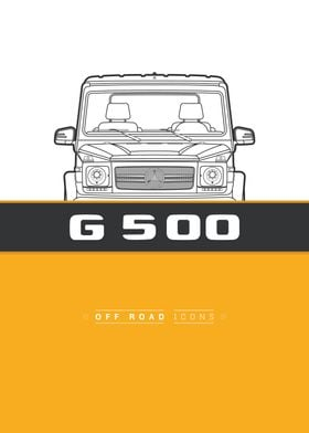 G500 yellow lines