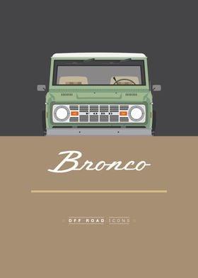 Bronco green brown