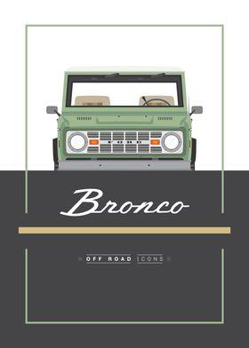 Bronco green
