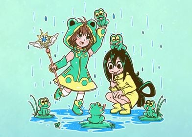 Best Frog Girls