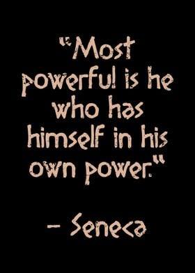 Ancient Stoic Quote Seneca