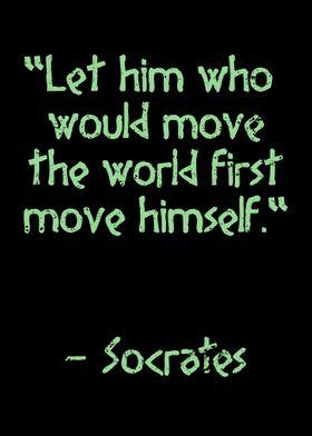 Socrates famous Quote