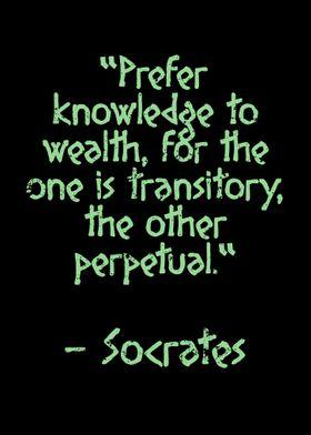 Socrates Quote Knowledge