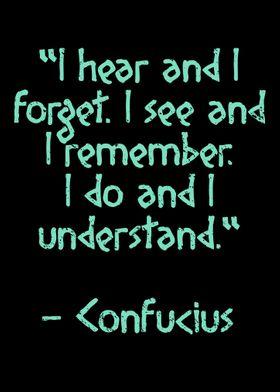 Confucius Quote Knowledge
