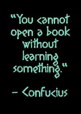 Read a book Confucius