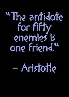 Ancient Quote Aristotle