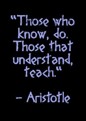 Aristotle Quote antique