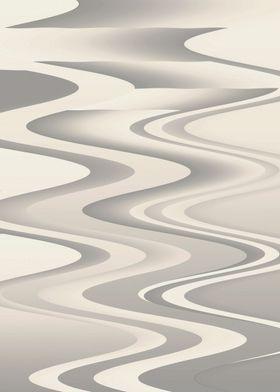 Waves of white shades vert