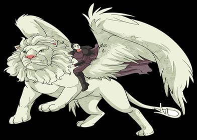 Griffin eagle mythical