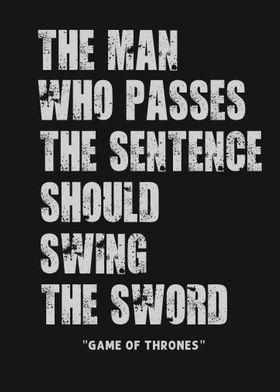 swing the sword