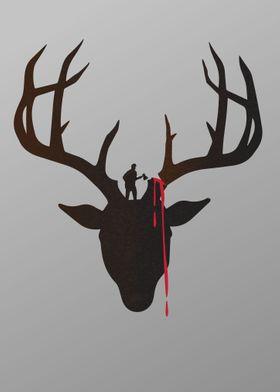Deer Antler chop