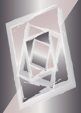 Smoky quartz gray portrait