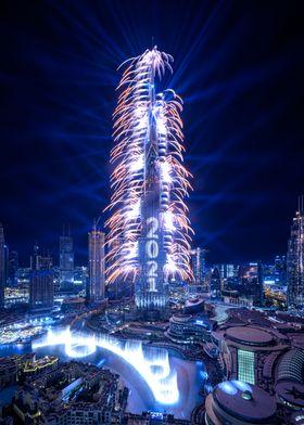 New Year Evening Dubai