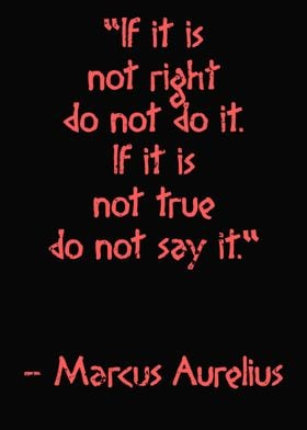 If it is not right Quote