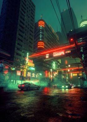 Cyber neon
