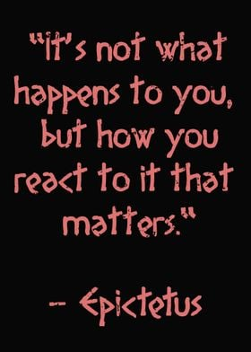 Epictetus Ancient Quote