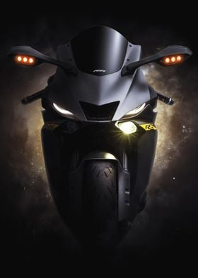 YZFR6 Face