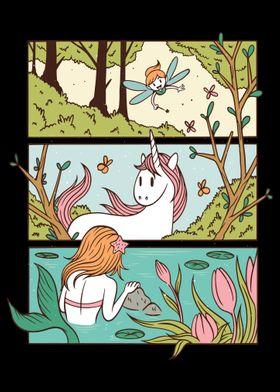 Magic Fairy Rainbow Unico