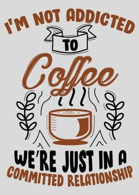 Funny Coffee Quotes Poster Print By Max Ronn Displate
