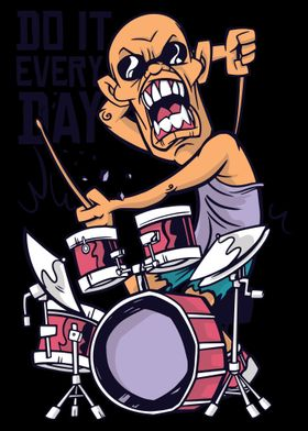 Drums and Drummer Do It Ev