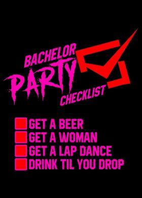 Groom bachelorette party b