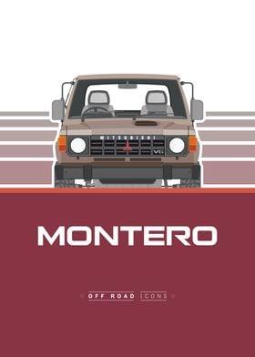 Montero red brown
