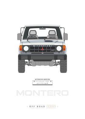 Montero white